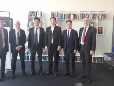 [REPOST] Visit of the Director-General of the Research Institute of KNDU (South Korea) in GCSP on 25 May