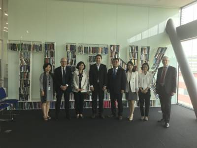 [REPOST- GCSP] A Delegation from the Ministry of Unification of South Korea visited the GCSP on 31 May
