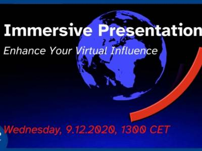 Immersive presentations - Trailer