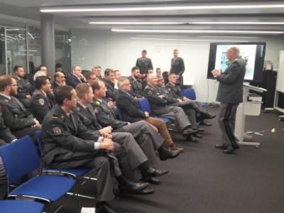 La section romande de la société romande des officiers de la logistique a tenu son assemblée générale au GCSP