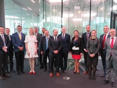 [REPOST] The GCSP hosted the 1st U.S Think Tanks Tour of Switzerland for a roundtable