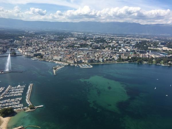 Vol en hélicoptère de Genève à Planeyse
