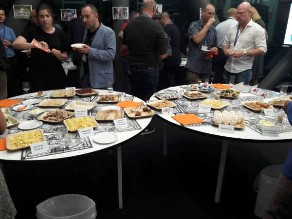 CENTROC Participants enjoying Swiss Specialties