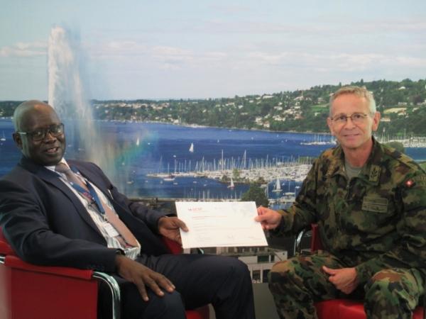 [REPOST] - Visite du Chef d'Etat-Major général des Armées du Sénégal au GCSP