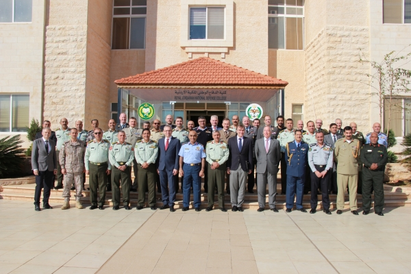 Participants to the 12th DA course in Amman
