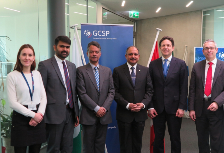 The National Defence University Delegation Visits the GCSP