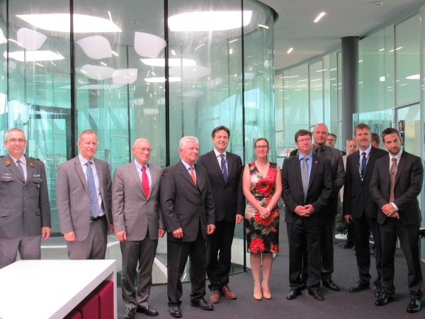 [REPOST] Chiefs of the Armed Forces of Germany, Austria and Switzerland visit the GCSP