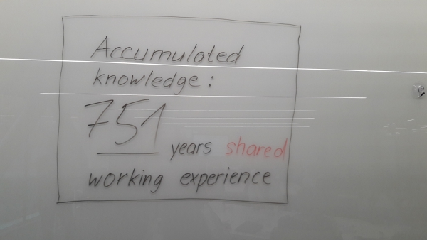 Cumulated experience@TheGCSP