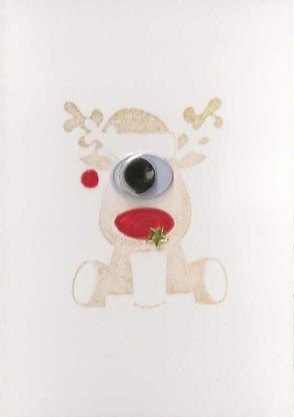 Polyph-Renne, the one and only one-eyed Reindeer